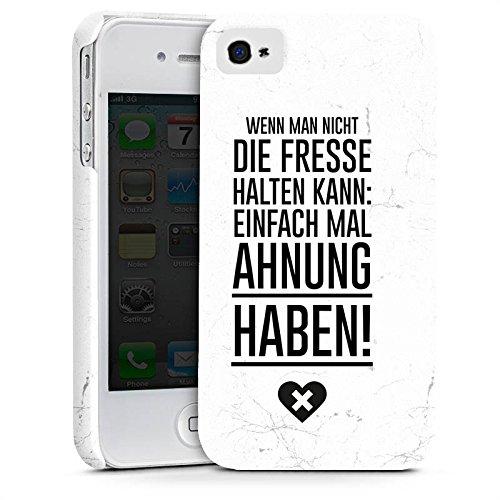 Apple iPhone X Silikon Hülle Case Schutzhülle Lustig Humor Sprüche Premium Case glänzend