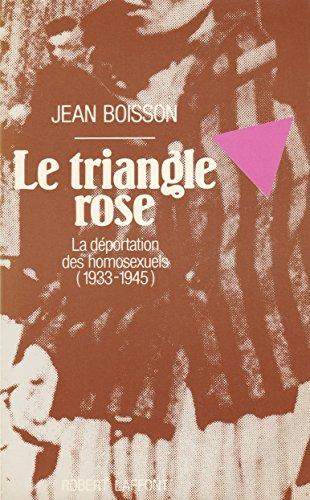 TRIANGLE ROSE par JEAN BOISSON