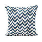 HUYURI Kissenbezüge Polyester Baumwolle Geometrische Linie Muster Sofa Kissenbezug Wohnkultur Kissen 45 * 45 CM