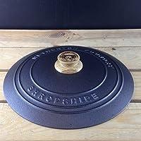 Netherton Foundry hierro fundido tapa con roble Knob
