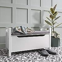 Noa and Nani - Olsen Storage Bench - (White)