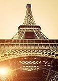 Poster Eiffelturm Paris, 84x59 Kunstdruck von mldigitaldesign