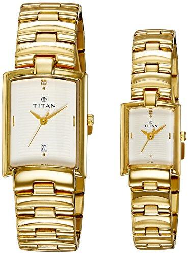 51a7n3iztnL - Titan NE19402940YM01 Bandhan watch