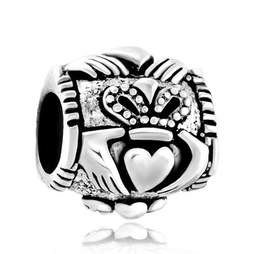 Pugster Sechs Point Star baumeln European Beads für Pandora Chamilia Biagi Charm Armbänder