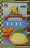 Tropiway de plátano Fufu Harina 24oz Pack de 2