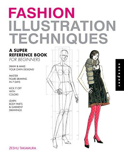 Fashion Illustration Techniques: A Super Reference Book for Beginners por Zeshu Takamura