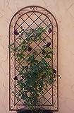Gabella Rankgitter Spalier Wand Rankhilfe Sichtschutz Metall Provence ROST
