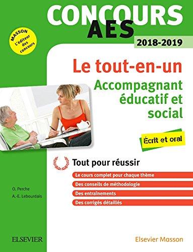 Concours AES 2018-2019 Le tout-en-un: Accompagnant ducatif et social crit et oral Tout pour russir