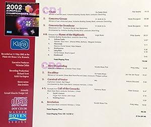 European Brass Band Championships 2002 by Doyen