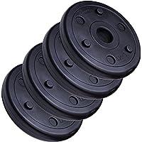 ScSPORTS Conjunto de discos de pesas 5 kg (4 x 1,25 kg)