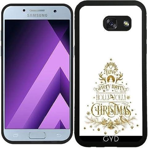 SilikonHülle für Samsung Galaxy A5 2017 (SM-A520) - Holly Jolly Christmas by UtArt