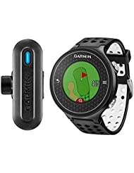 GARMIN Approch S6/Truswing Gps de Golf + Analyseur de Swing de Golf Mixte Adulte, Noir