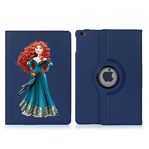personalised-princess-merida-disney-rotating-case-cover-for-apple-ipad-mini-1-2-3-dark-blue
