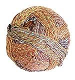 Schoppel Zauberball Crazy Cotton Fb. 2366 Urgestein, Baumwollgarn mit Farbverlauf