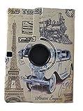 Theoutlettablet® Funda Giratoria 360º para Tablet Bq Aquaris M10 10.1' Book Cover Case Protección Delantera y Trasera