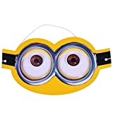 Party Butiko Minions Theme Paper Eye Mas...