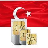 travSIM Türkei Prepaid Daten SIM Karte + 1GB für 30 Tage - Standard,Micro & Nano SIM