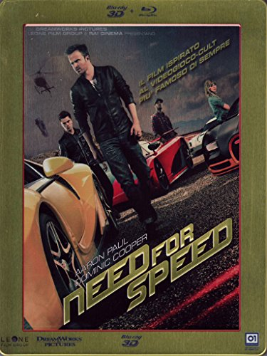 Need For Speed (Limited 3D Steel Book) (Blu-Ray 3D+Blu-Ray)