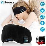 Écouteurs Bluetooth,Masque De Sommeil Bluetooth Casque Masque pour les yeux Oreillettes Sans Fil...