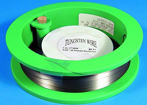 """Tungsten Wire 0.009"""" (0.25 mm), 100ft"""