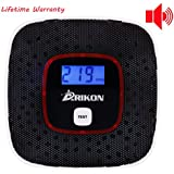 ARIKON Detector de Monóxido de Carbono Sensor de Alarma Human Voice Promover para la seguridad en el hogar
