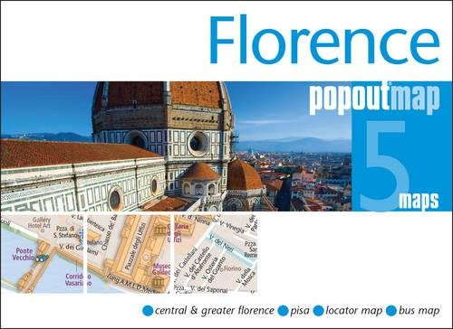 Florence PopOut Map: Handy pocket size pop up city map of Florence (PopOut Maps)