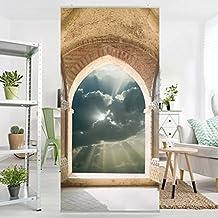 Panel japones Gates of Heaven 250x120cm | paneles japoneses separadores de ambientes cortina paneles japoneses cortina cortinas | Tamaño: 250 x 120cm incl. soporte de aluminio magnético