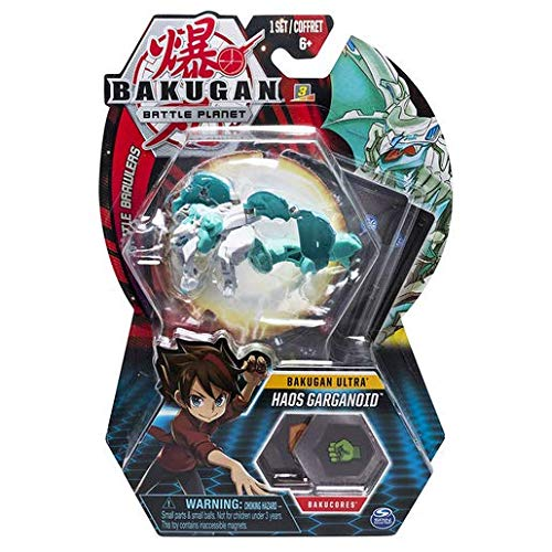 BAKUGAN 8cm Ultra Action Figure and Trading Card - Haos Garganoid