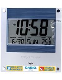 Casio Reloj Despertador con termómetro ID-11-2DF 24