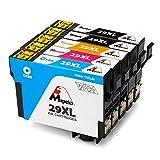 Mipelo Kompatibler Ersatz für Epson 29 29XL Hohe Kapazität Druckerpatrone - 5 Pack Gilt für Epson Expression Home XP-332 XP-235 XP-432 XP-435 XP-445 XP-442 XP-335 XP-345 XP-342 XP-245 XP-247 Drucker