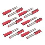 Aexit Taglierina per taglienti a disco diritto da 30mm, lunghezza 1/4 ', codolo da 12mm ID: 276314