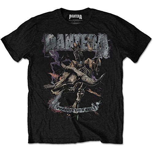 Tee Shack Pantera Cowboys from Hell Dimebag Darrell Oficial Camiseta para Hombre (Medium)