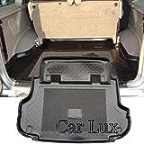 Car Lux - Alfombra Cubeta Protector Maletero para Nissan Terrano II Largo de 5 puertas