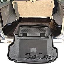Car Lux AR00197 - Alfombra Cubeta Protector cubre maletero a medida con antideslizante y borde alto