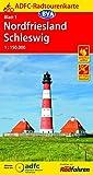 ADFC-Radtourenkarte 1 Nordfriesland /Schleswig 1:150.000, reiß- und wetterfest, GPS-Tracks Download (ADFC-Radtourenkarte 1:150000) -