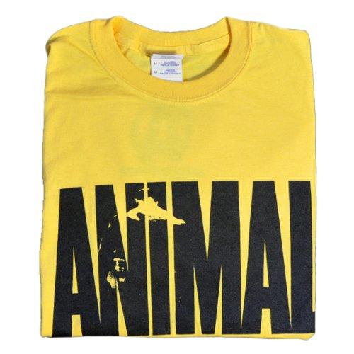 Universal Nutrition Animal Shirt Iconic Original USA gelb XL - American Heavyweight T-shirt