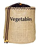 Kitchen Craft Natural Elements Hessian Vegetable Preserving Bag with Blackout Lining