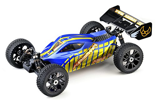 Preisvergleich Produktbild Absima Hot Shot Series 13202EU - Allrad RC Car 1:8 EP Buggy AB2.8BL 4WD Brushless RTR inklusive LiPo Akku und Ladegerät