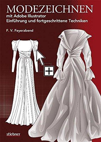 Modezeichnen mit Adobe Illustrator: Einführung und fortgeschrittene Techniken Buch-Cover