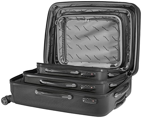 Packenger Velvet Koffer, Trolley, Hartschale 3er-Set in Schwarz, Größe M, L und XL - 10