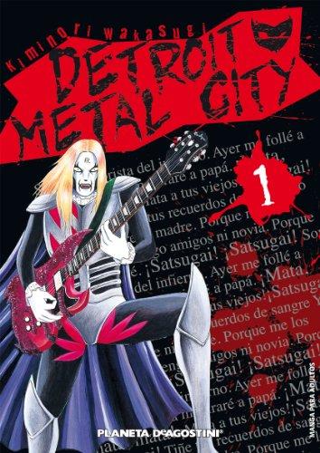 Detroit metal city nº 01 par Kiminori Wakasugi