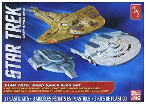 500 Star Trek Cadet Series, 3 Bausätze Plastikmodellbausatz, Modelleisenbahnzubehör, Hobby, Modellbau, Mehrfarbig ()