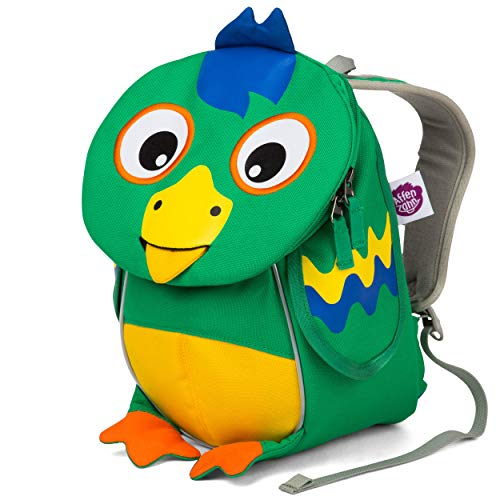 Affenzahn Kinderrucksack für 1-3 Jährige im Kindergarten - Piet Papagei