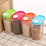 #7: Siddhi Coollection 2.9 L Plastic Food Grain Candy Storage Box Containers Kitchen Accessories Tool Food Storage Containers Plastic Kitchen