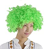 Yodensity Afro Perruques Cosplay Cheveux Clown Wig Halloween Déguisement