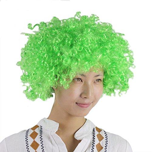 Yodensity Kostüm Clown Perücke Einheitgröße mit Gummilitze für Kinder/Erwachsener in 9 ()