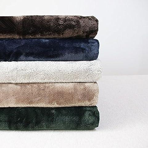 American cotone rustico filo coperta divano letto Soggiorno Leisure coperta asciugamano morbido materiale lapideo