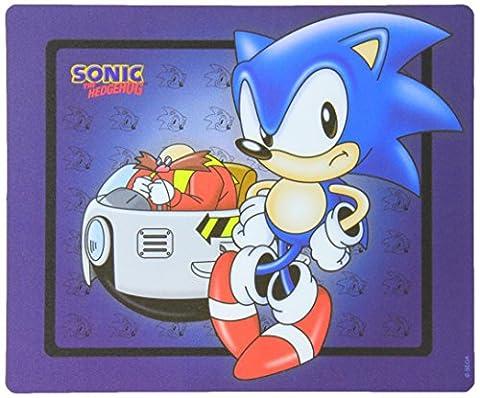Sonic The Hedgehog23 x19cm Mousepad Sonicand Eggman