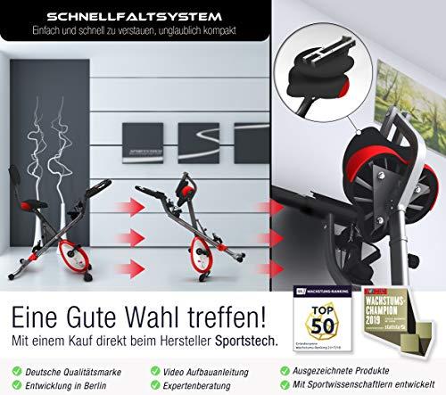Sportstech X150 4in1 Heimtrainer mit Smartphone APP - 3
