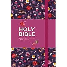 NIV Pocket Floral Notebook Bible
